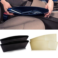 2 pcs/lot Car Seat Pocket Catcher Organizer Car Seat PP Stowing storage bag belonging collector keeper preventor