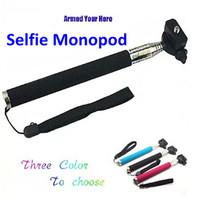 Handheld Monopad Aluminum Extendable Stick Suporte Para Selfie Monopod Tripod Monope for GoPro Camera Hero3 4 sj4000 Accessories