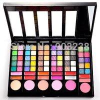Hot Sales! Pro Full 78 Color Makeup Eyeshadow/Blush/Gloss DETACHABLE Palette Set