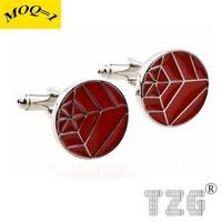 TZG11233 Enamel Cufflink Cuff Link 1 Pair Free Shipping Promotion