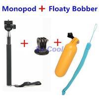 Selfie Stick Monopod Tripod tripode Tripe Floating Bobber Floaty Handheld Grip Stick Monope For Gopro Hero3 4 Sj4000 Accessories