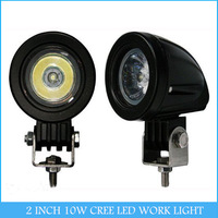 2 INCH 10W CREE LED WORK LIGHT FLOOD /SPOT for OFF ROAD USE FOG LAMP C76