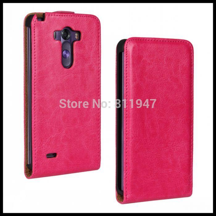 Для LG G3 Случае Кожаный Чехол Crazy Horse Кожа Защитной Оболочки для LG G3 Телефон Аксессуар