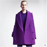 Greedis Good 2014 women coat Wool & Blends autumn winter trench coat outwear fashion new free shipping Y119