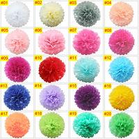 "8""  20CM Tissue Paper Pompoms Pom Poms Flower Balls Handmade Wedding Party Decoration"
