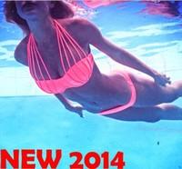 2015 New swimming suit for women   split band     sling steel       trajes de bano biquinis women moda praia
