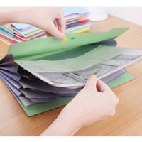 X189 Korea creative stationery wholesale creative era school season multilayered folders office preferred 3 p