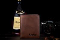 Men's short a wallet   cutis vera   quality goods