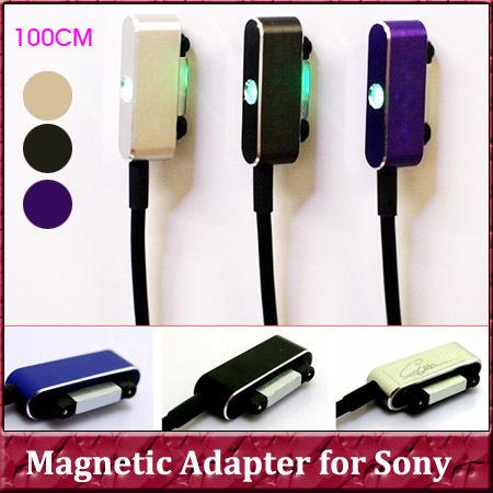 Кабель для мобильных телефонов CF 1 USB Sony Xperia Z1 Z2 L39H C6903 C6906 xL39H Z1 Z2 Z3 Z3 magnetic cable for sony retratable usb male to magnetic connector male cable for sony l39h xl39h z2 z1 z2 mini