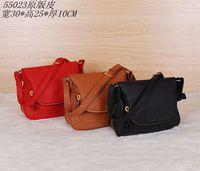 2014 brand design women real cow leather Adjustable Strap Medium Shoulder Bag NO.55023
