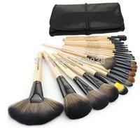 Hot Sale Authentic Professional 24 Pcs Brand Cosmetics Makeup Brushes Make up Tool Brushes Set make up set