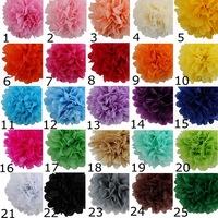 """10 PCS  Hot Sale New 3"""" 7CM Paper Pom Poms Flowers Balls Wedding Decoration"""