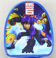 factory price new  Free shipping 1 pcs/lot Big hero 6 baymax backpack/ children's schoolbag best  gift