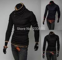 New 2015 Fashion Stylish Sweatshirt Men Turtleneck Assassins Creed Jacket Cheap Mens Sweatshirts Sweat Suits Men 2 Colors M-XXL
