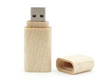 Circular Style Wooden USB Flash Drive 32gb 64gb pen drive 64GB Free Shipping