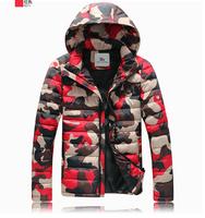 2014 Hotsale Men Winter Splicing Cotton-Padded Coat Jacket Winter Plus Size Parka High Quality   190