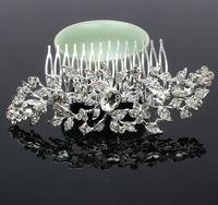 New Design Acrylic Stone Wedding Bridal Hair Comb Hair bands Handmade Free Shipping A grade quality