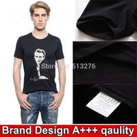 Hot selling men's shirts t shirt men brand summer clothing top tees mens t shirts fashion 2014 drop shipping mens clothes tee