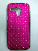 New arrival bling rhinestone diamond case for MOTOROLA MOTO G XT1032 phone bag covers,free shipping