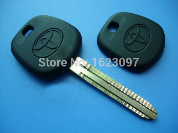 Best quality 40pcs/Lot Toyota blank key for Toyota transponder key shell toy43 No chip place(China (Mainland))