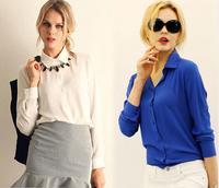 Women blouses Roupas blusas femininas 2014 chiffon blouse camisas femininas body shirt women tops blusa feminina renda clothing
