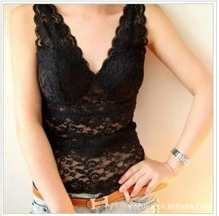 2015 direct special offer all-match lady lace openwork small wrapped chest anti bra straps with sendthe skirt shoulder-straps(China (Mainland))