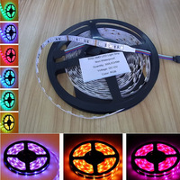 Hot Sale ! High Brightness 5050 RGB LED Strip Flexible Light Tape 5M 300 LED 60LED/M Non-Waterproof IP20 50% off #5