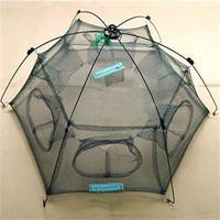 New Arrival Hot Fashion Sale Small Mesh Fishing Net Size 80cmX80cm 100cmX100cm catch Fish Minnow Trap Ruse Cast Net