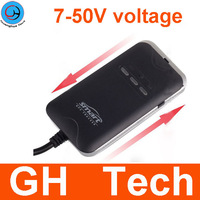 2pcs per lot 7-50V 12v /24v Quad Band 1 Year Quality Gurantee GPRS GSM Mini gps car tracker no monthly fee