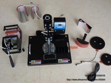 DHL free ship 8 In 1 digital tshirt printing machine heat press,heat transfer machine Sublimation Printer