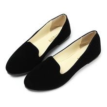 modestil wildleder ballerina dolly frauen wohnungen ballettschuhe slipper prinzessin schuhe außensohle komfortable großhandel(China (Mainland))