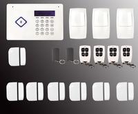 Bluetooth security alarm system GSM Alarm system Home security Alarm systems with LCD touch Keyboard Sensor alarm