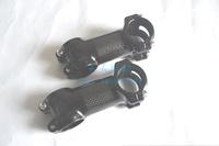 Mountain bike aluminum alloy package carbon fiber bicycle stem 31.8*70/80/90/100/110/120mm caule bicicleta