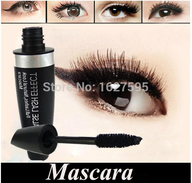 1Pcs Fiber Eyelash Mascara Magic Natural False Lash Eye Lashes Makeup Cosmetics Black