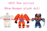 3 style can choose Large Ultra action figure Classic Toys 30cm Big Hero 6 Baymax Stuffed Plush Robot Doll  Free Shipping