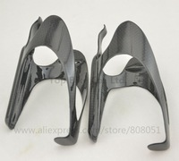 2pcs Carbon Fiber 3K Lightweight Water Bottle Cage Holder for Bike Bicycle Cycling MTB Freeshipping