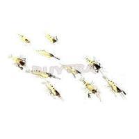 Newest Hot Sale Artificial Soft Fishing Lure Bionic Shrimp Soft Bait Fishing Tackle Lifelike Fishy Smell 10Pcs