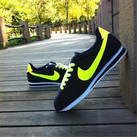 Men's flannelet skateboarding shoes low sneaker single shoes plus size autumn shoes