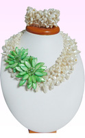 """Free shipping. Hand-woven South Sea pearl necklace 16 """""""