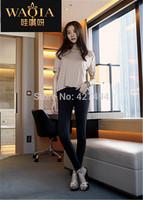 Hot New Europe Women Jeans Slim Elastic Black Snow Feet Pants Tight Pencil Pants Jeans mid Waist Fashion High Quanlity Jeans