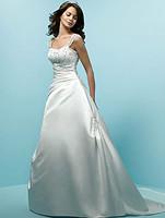 ivory white beaded weeding dress Bridesmaid prom size :6.8.10.12.14.16   1-0263