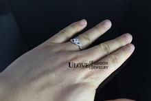 Sale Crystal Bijoux Fashion Alliances of Marriage Simulated Gemstone Women Jewelry Female Swiss Diamond Ring Size