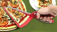 New Pizza Cutter Pizza Slicer 2 in 1 Pizza Scissor Kitchen Shears Pastry Cutter