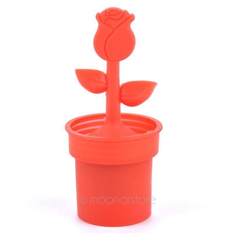 Многоцветный цветочный горшок для дома чайные ситечки устройство чайный пакетик чай фильтры чайная ложка заварки xjj0051