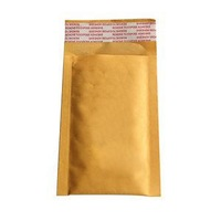 New Arrival 10X 90*130+40mm Kraft For Bubble Bag Padded Envelopes Mailers Shipping Yellow Bags Universal