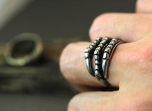 Newest Listing Retro Burnished Eagle Toe Ring Animal Jewelry Unique Ring 12Pcs Lot 2 Colors Free
