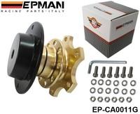 Tansky - EPMAN NEW Steering Wheel Quick Release (Golden, Black, Titanium) Default color: Golden EP-CA0011G