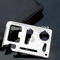 Multi-function Saber Card Tool Card Tool Outdoor Camping Universal Life Saving Card