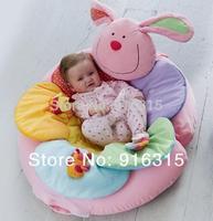 Pink Rabbit Inflatable Baby Sofa Seat ELC Blossom Farm Sit Me Up Cosy Infant Soft Sofa Play Mats EC-002