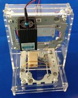 300MW blue-violet laser engraver, desktop DIY mini laser engraving machine Printer marking machine
